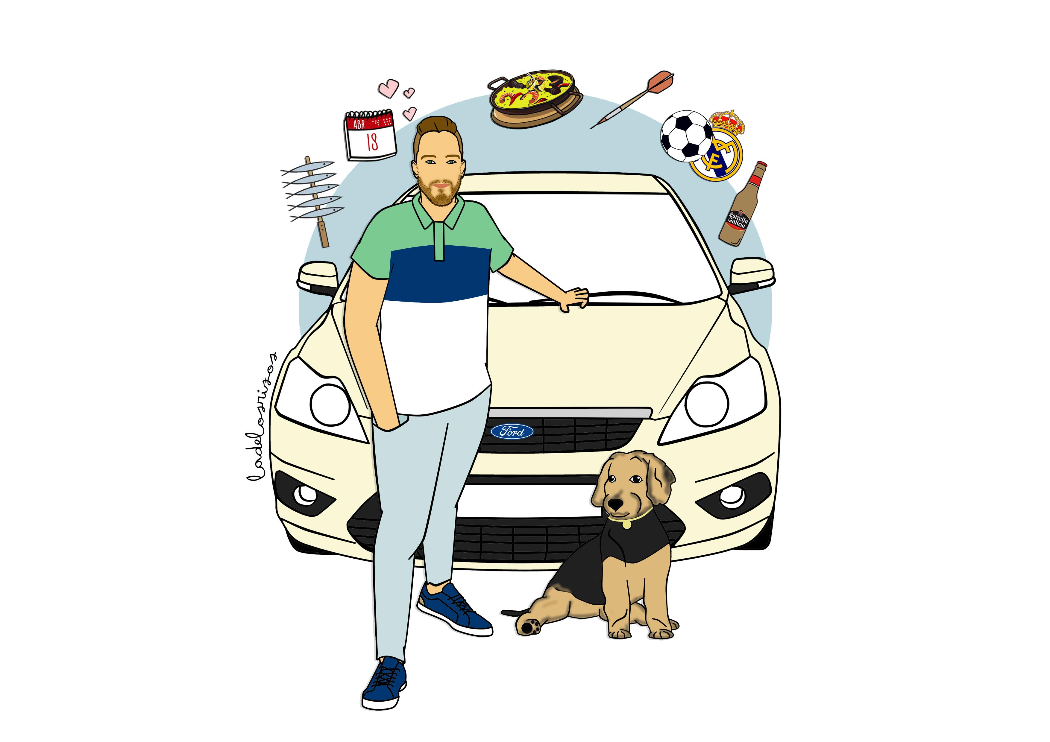 Ilustración individual
