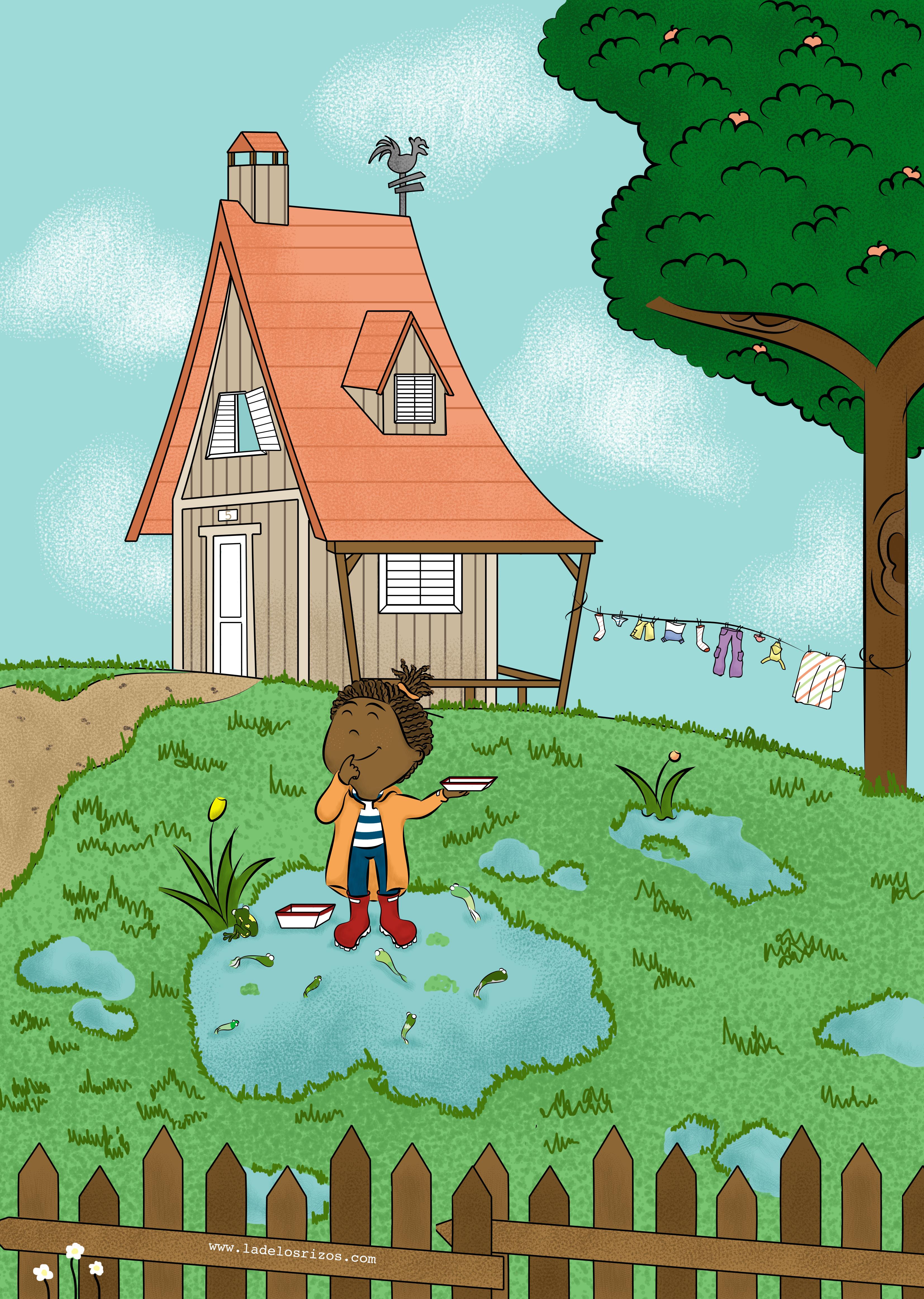 Ilustración Cuento infantil ilustrado